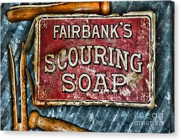 Vintage Soap Canvas Print
