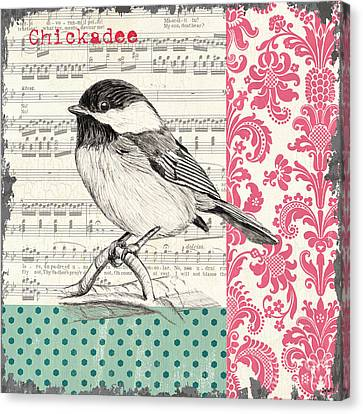 Vintage Songbird 3 Canvas Print