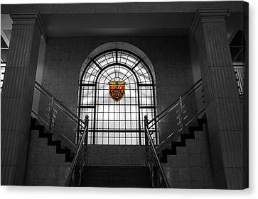 Vintage Stained Glass 2 Canvas Print by Andrew Fare