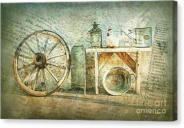 Vintage Still Life Canvas Print