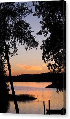 Vintage Sunset Canvas Print by Parker Cunningham