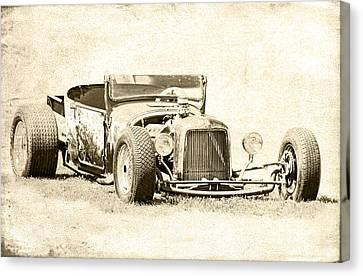 Vintage T Bucket Ford Canvas Print by Steve McKinzie