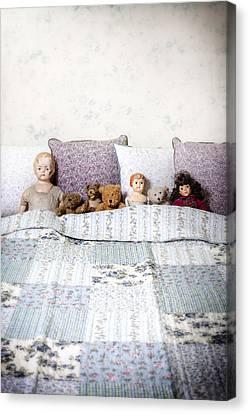 Vintage Toys Canvas Print by Joana Kruse