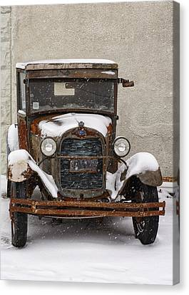 Vintage Treasures Canvas Print by Kimberly Danner