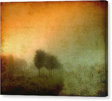 Vintage Tree Line Canvas Print