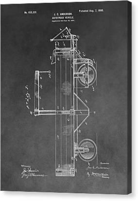 Vintage Truck Patent Canvas Print
