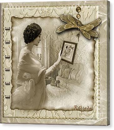 Vintage Vanity Canvas Print by Giada Rossi