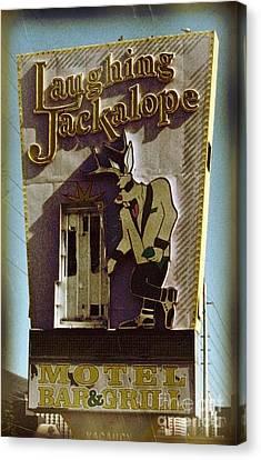 Vintage Vegas Canvas Print by John Malone