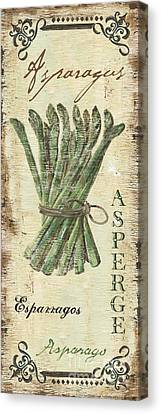 Vintage Vegetables 1 Canvas Print by Debbie DeWitt