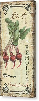 Vintage Vegetables 3 Canvas Print by Debbie DeWitt