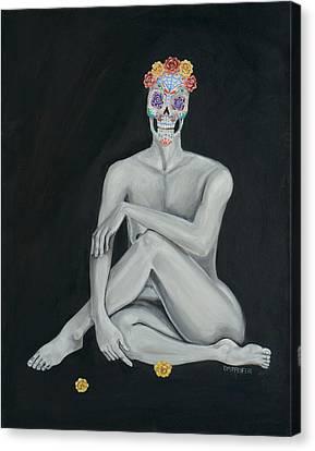 Violet Canvas Print by Dawn Pfeufer