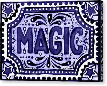 Violet Magic  Canvas Print