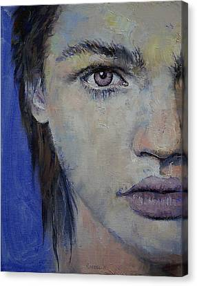 Violet Canvas Print by Michael Creese