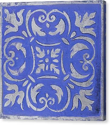 Violet Mosaic Canvas Print