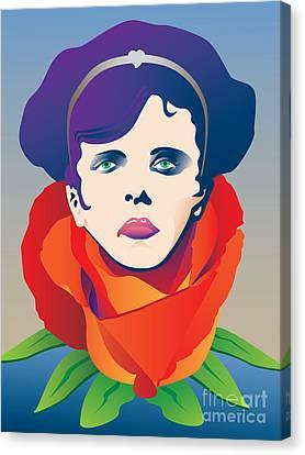 Opera Canvas Print - Violetta Of La Traviata by Joe Barsin