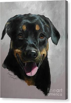 Violetta Canvas Print by Suzanne Schaefer