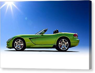 Viper Roadster Canvas Print by Douglas Pittman