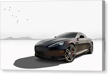 Aston Martin Canvas Print - Virage by Douglas Pittman