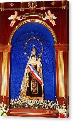 Virgen Del Carmen Chile Canvas Print