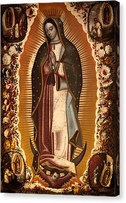 Virgin Of Guadalupe Canvas Print by Mountain Dreams