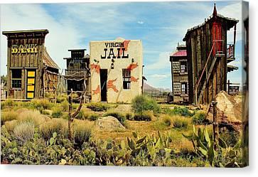 Virgin Utah Canvas Print