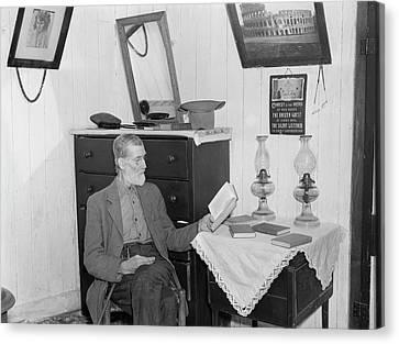 Virginia Interior, 1935 Canvas Print by Granger
