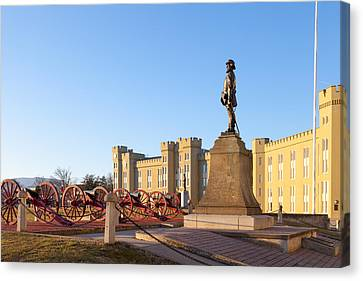 Virginia Military Institute Canvas Print by Melinda Fawver