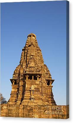 Vishvanatha Temple Khajuraho India Canvas Print