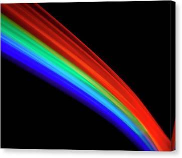 Visible Light Spectrum Canvas Print