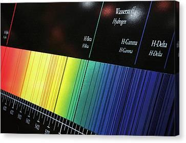 Visible Spectrum Canvas Print