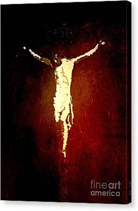 Vision Of Christ Canvas Print