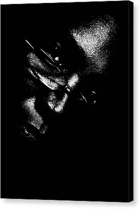 Canvas Print featuring the photograph Vision Portrait 1 by Cleaster Cotton