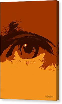 Canvas Print featuring the photograph Vision by Skip Tribby