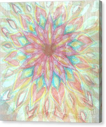 Visionary Crown Chakra Canvas Print by Sacred  Muse
