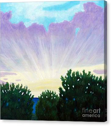 Visionary Sky Canvas Print by Brian  Commerford