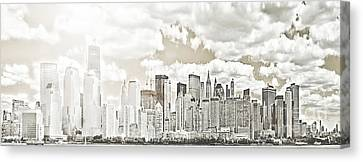 Visions In My Mind Canvas Print by Janie Johnson