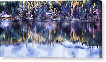 Visions- Lake Inez Canvas Print by Janie Johnson