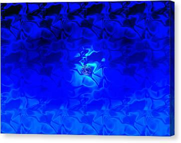 Visions Of Blue Canvas Print by Kellice Swaggerty