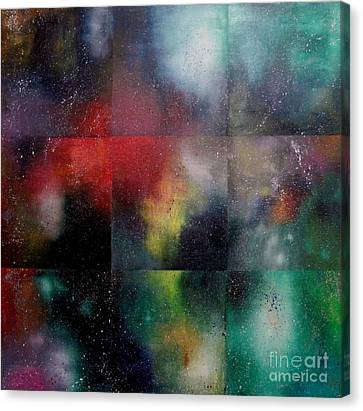 Figment Canvas Print - Visions Of Space And Time by Jeremy Aiyadurai