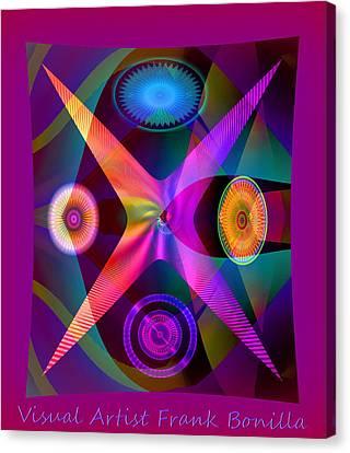 Visions Canvas Print by Visual Artist  Frank Bonilla