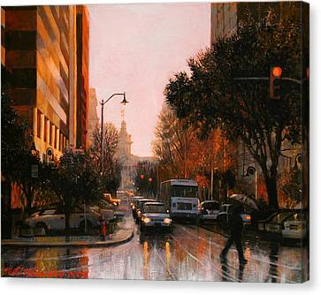 Vista Drizzle Canvas Print