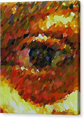 Visual Perception Canvas Print by Kenneth Young