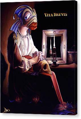 Vita Brevis Canvas Print by Patrick Anthony Pierson