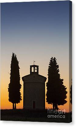 Vitaleta Twilight Canvas Print by Brian Jannsen