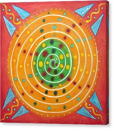 Vitality Canvas Print by Janelle Schneider