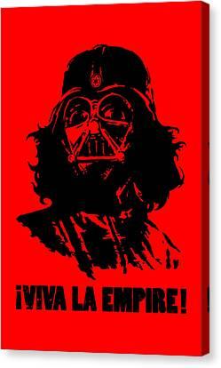 Viva La Empire Canvas Print by Vincent Carrozza