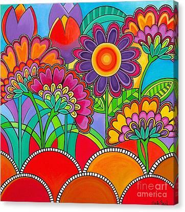 Viva La Spring Canvas Print by Carla Bank