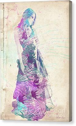Viva La Vida Canvas Print by Linda Lees
