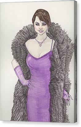 Vivacious Samantha Canvas Print