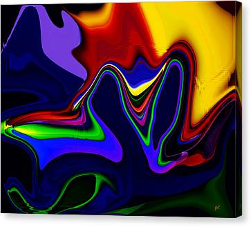 Vivacity  - Abstract  Canvas Print by Gerlinde Keating - Galleria GK Keating Associates Inc